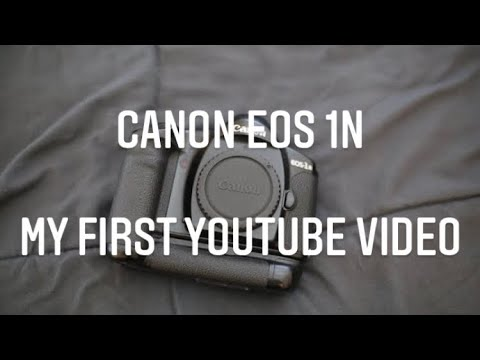 Canon EOS 1n 35mm Film SLR   First Video