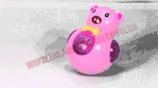 Музыкальная неваляшка TUMBLER Медведь