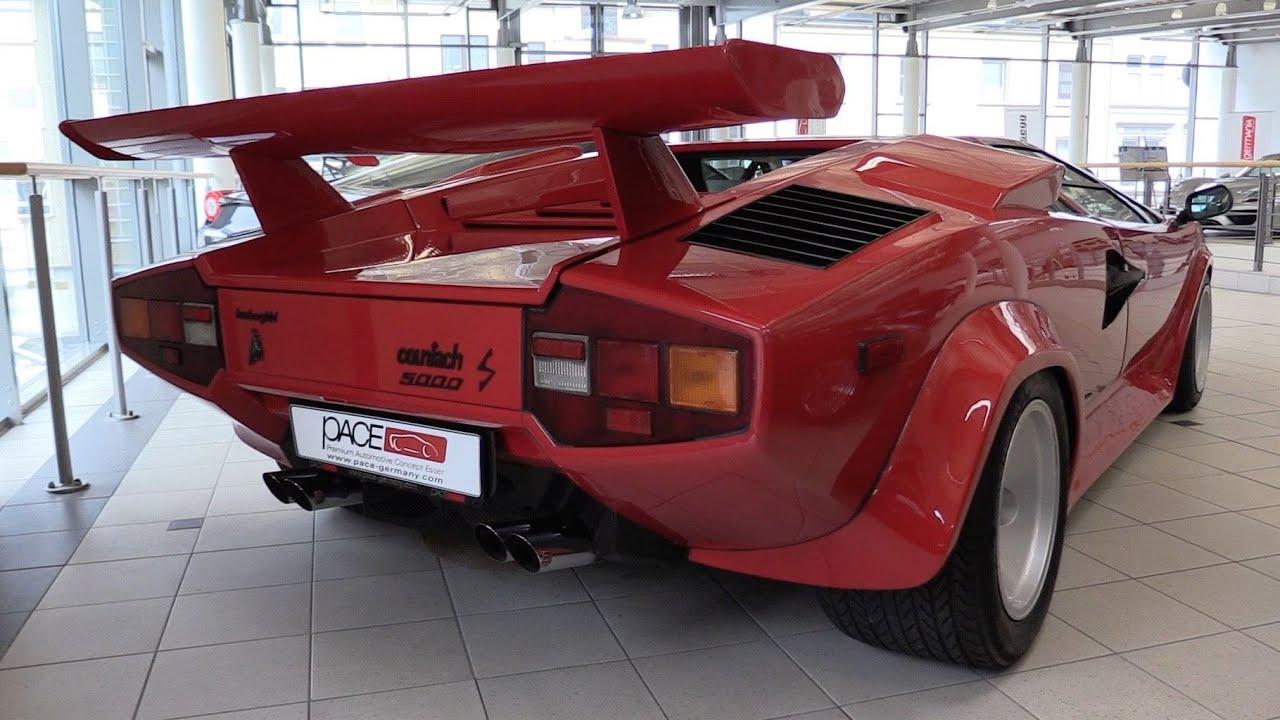 Pure Sound Lamborghini Countach 5000s Cold Start Revs And Quick
