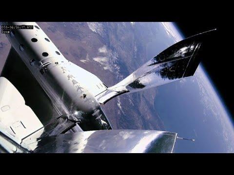 afpes: Virgin Galactic anuncia haber realizado vuelo espacial de prueba