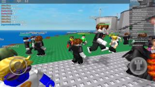 We played roblOx with sovereign nc