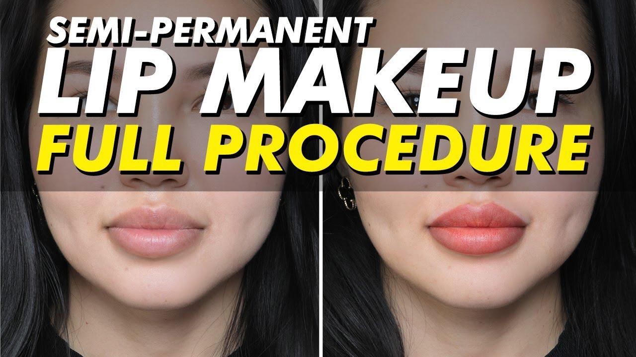 Semi-permanent lip tattoo   Permanent makeup   Eye Design NY