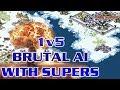 Baltic Sea Map - 5 Brutals vs 1  ( Command & Conquer - Yuris Revenge )