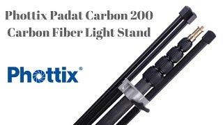 Phottix Padat Carbon 200 Carbon Fiber Light Stand