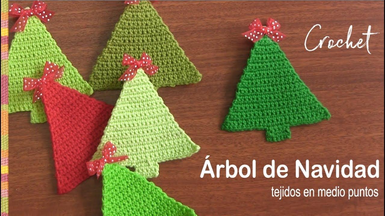 Como hacer un arbol de navidad a crochet