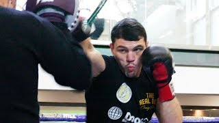 Craig Glover WIN OR BUST | Matchroom Boxing media workout