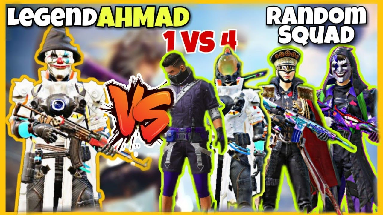 Playing TDM Aganist Random Squad | LEGEND AHMAD | Part 3