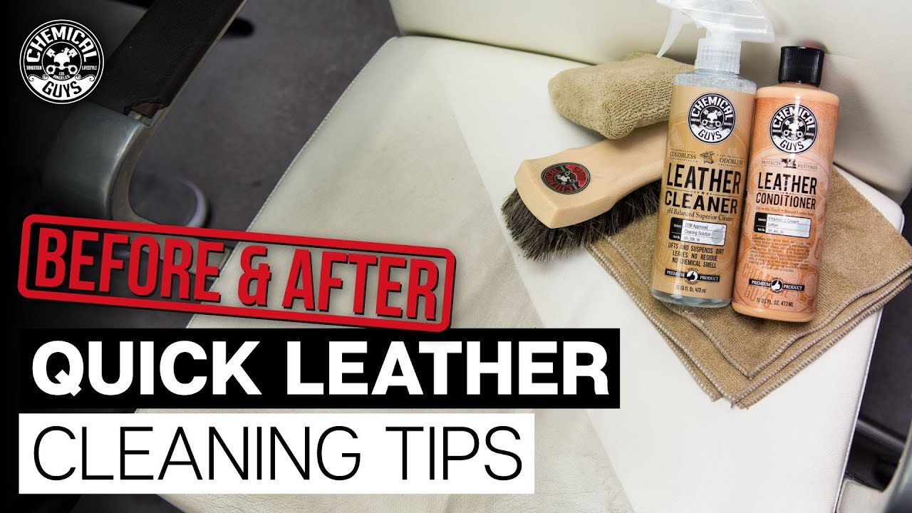 how to clean leather watch