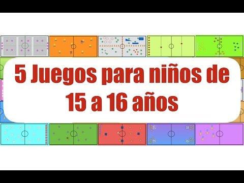 5 JUEGOS PARA NIÑOS DE 15 a 16 AÑOS | Juegos Educación Física