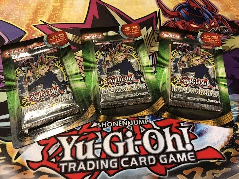 Yu-Gi-Oh! Invasion of Chaos (IOC) Blister Pack Opening - OLD SCHOOL!