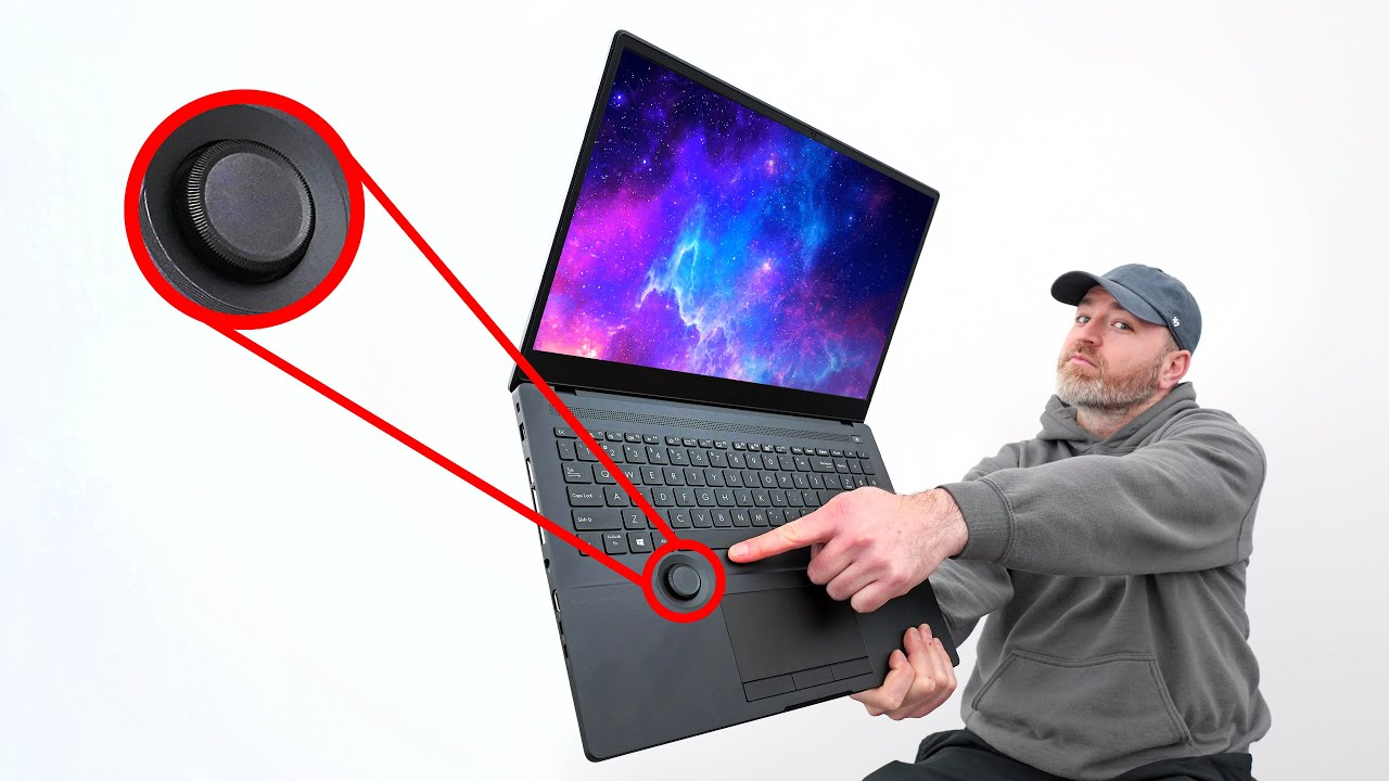 I've Never Seen THIS on Any Other Laptop...