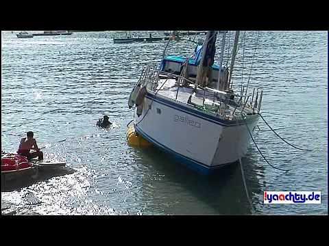 Segelyacht im sturm  Bergung Teil 1 Segelyacht Galileo auf Mallorca nach Sturm - YouTube