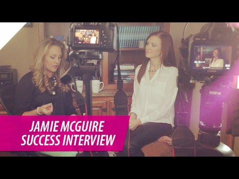 Jamie McGuire | How to Become a Successful Self Published Fiction Author | The Pursuit Interview
