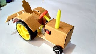 How to make a tractor || amazing rc toys tractor for  || powerful tractor at home || simple toys