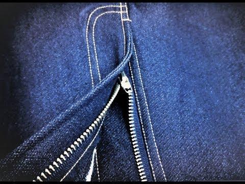 Sew a Jeans Zip Fly & belt
