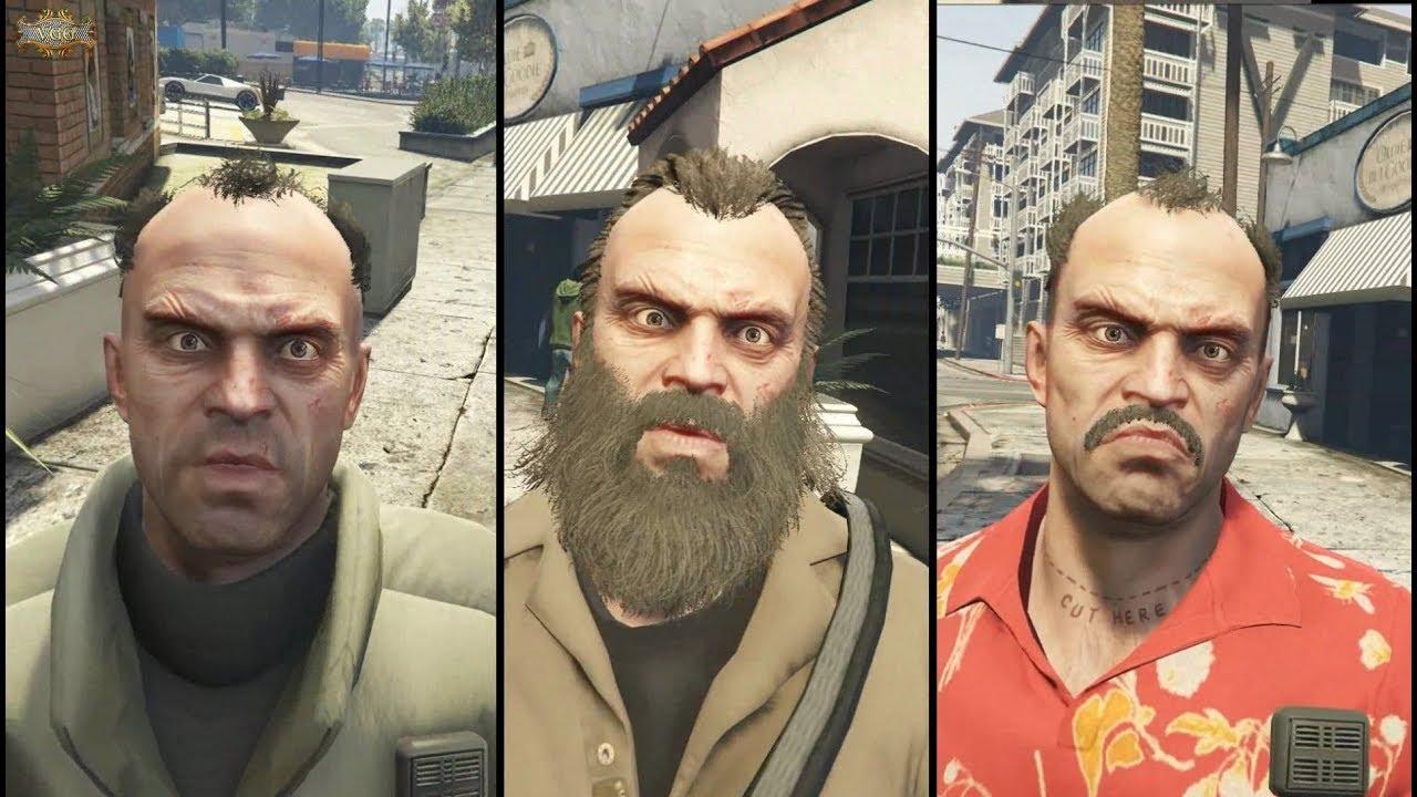 The Many Looks Of Trevor Gta