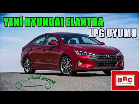 Yeni Hyundai Elantra BRC Lpg Dönüşümü