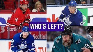 NHL Free Agency Log 2019 | Which Players Are Left? (Brassard signs with NYI)