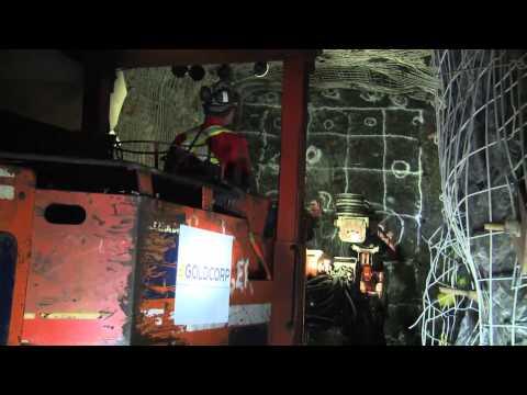 Inspecting Rock Face Safety in Underground Mines | Sécurité dans les mines souterraines