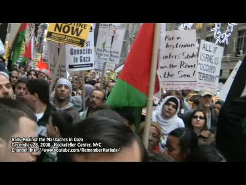 Rally against Massacres in Gaza - 12/28/2008 - Part II