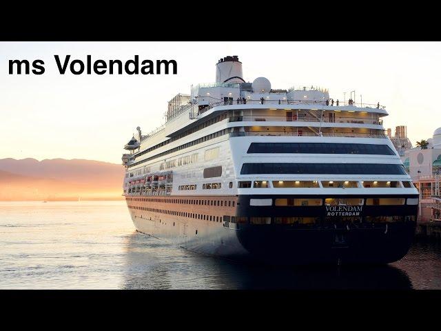ms Volendam - 7-day Alaskan Cruise