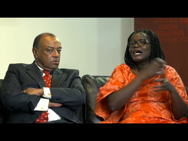 Voices from AGRF 2017 - AECF's Lord Boateng & and IDRC's Jemimah Njuki