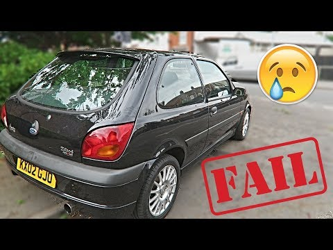 Fiesta Fails The MOT! :(
