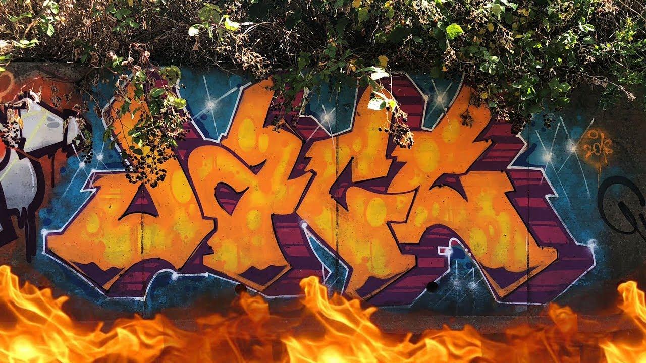 River Rom Walk 23 02 2019 Part 3 London Graffiti Youtube