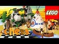 LEGO Chess   Wild West Cartoons   Indians vs  Cowboys Cutscenes