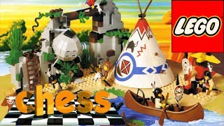 Lego Indians & Cowboys of the Wild West - LEGO Chess PC