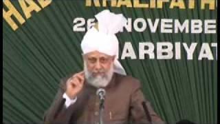 Ahmadiyya: Huzoor addresses Lajna at Calicut Kerala, India 2008 (1/4)