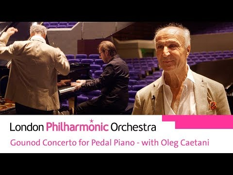 Gounod Concerto for Pedal Piano - with Oleg Caetani