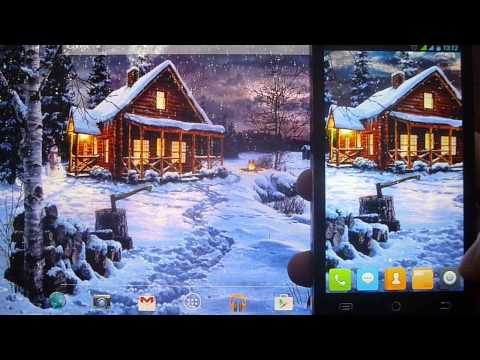 Winter Holiday Live Wallpaper 1.0.2