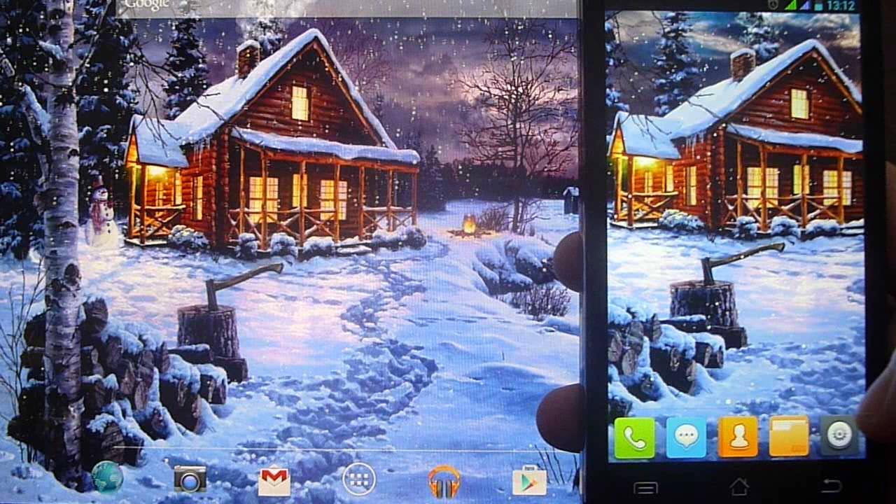 Winter Holiday Live Wallpaper 102