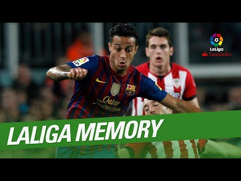 LaLiga Memory: Thiago Best Goals and Skills