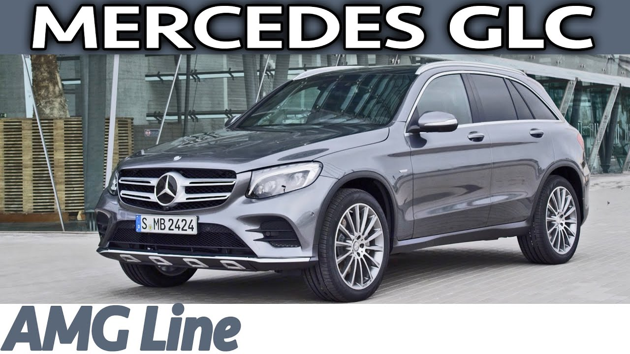 2016 Mercedes Glc Amg Line Edition 1 Interior Exterior Walkaround