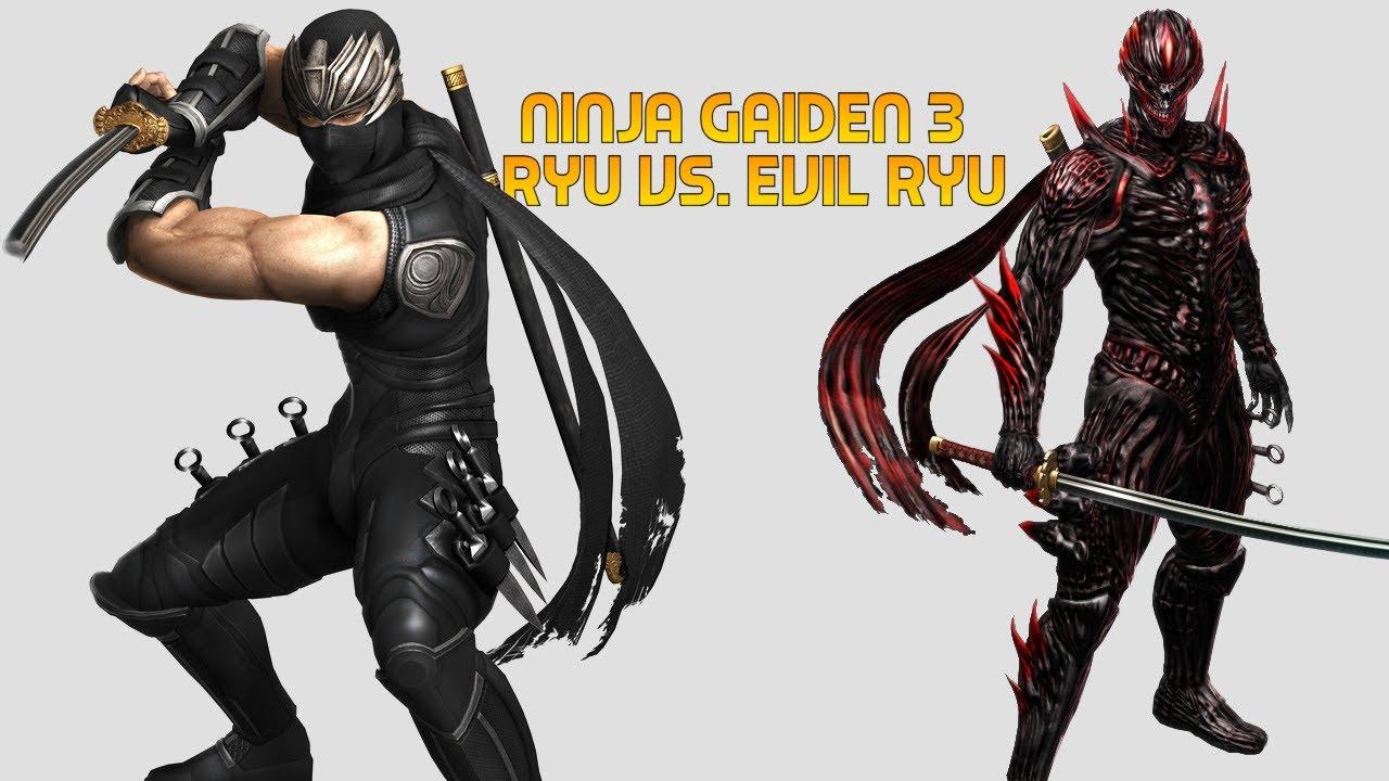 Wii U Ninja Gaiden 3 Razor S Edge Evil Ryu Boss Youtube