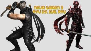Wii U - Ninja Gaiden 3 Razor's Edge - Evil Ryu Boss