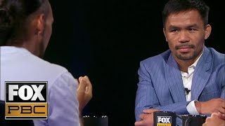 manny-pacquiao-vs-keith-thurman-full-interview-face-to-face-pbc-on-fox