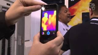 Flir One: Sensores de calor para iPhone - [CES 2014] - Tecmundo