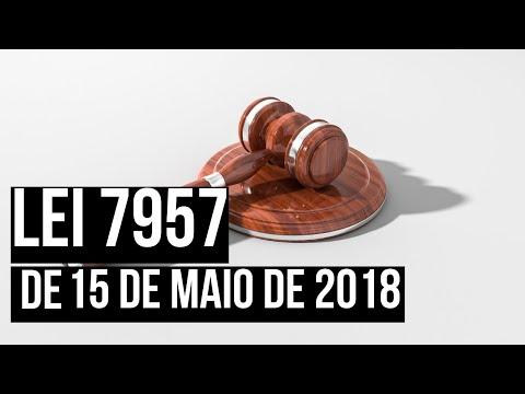 Lei 7957 de 2018 do Rio de Janeiro - Canudos e Copos Descartáveis