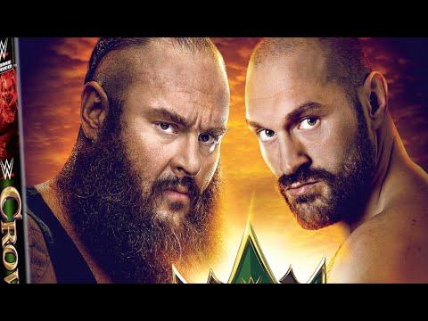 WWE Crown Jewel 2019 UK DVD Cover Reveal
