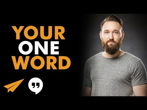 How Your ONE WORD Will Help Change Your World ft. Lucas Rubix