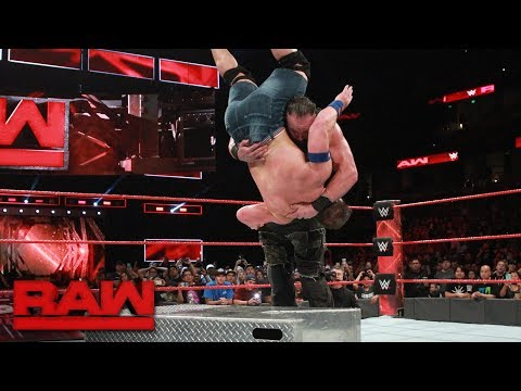John Cena vs. Braun Strowman: Raw, Sept. 11, 2017