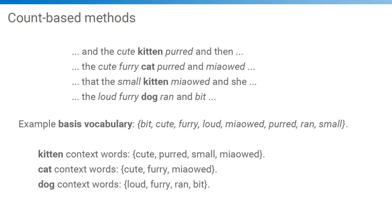 Lecture 2a Word Level Semantics Ed Grefenstette Youtube