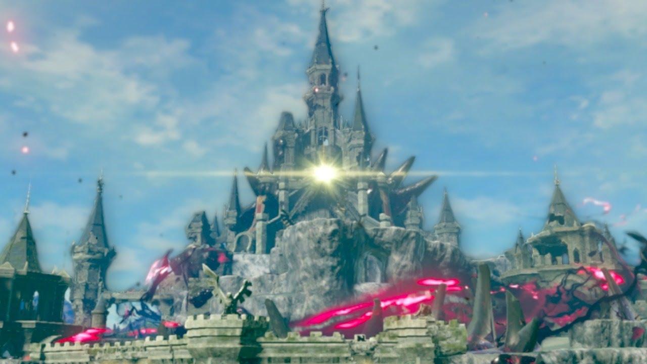 RAIDING HYRULE CASTLE!! || Breath of the Wild Master Mode 100% LIVE!!