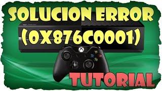 Tutorial Solucion Perfil Dañado Xbox One Codigo de Error 0x876c0001 Mantenimiento a tu Cuenta