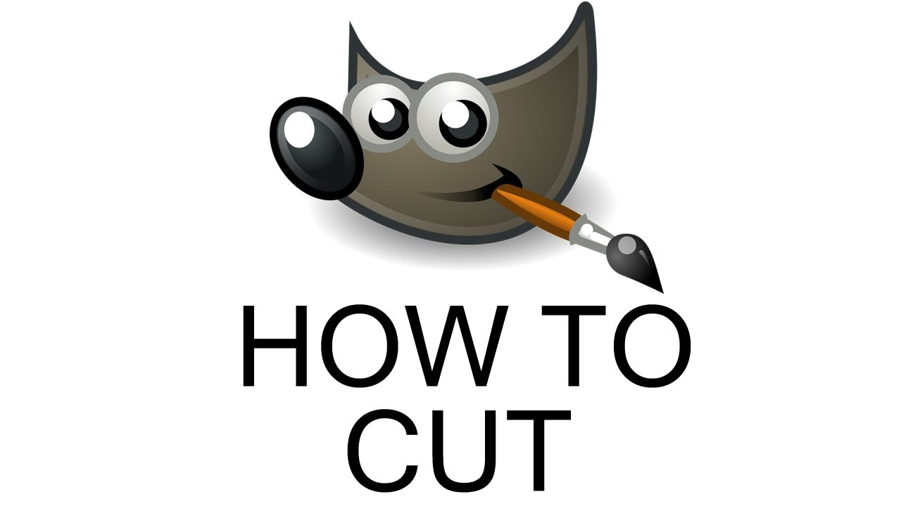 how to cut out image gimp