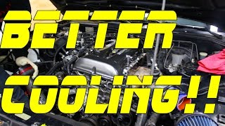 S13 Cooling System Upgrade | Project S13 SR20det Pt 4