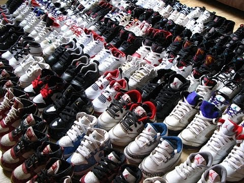 Size 8 Shoes For Sale: Kobe 8s, Lebron 9s, Foams. - YouTube